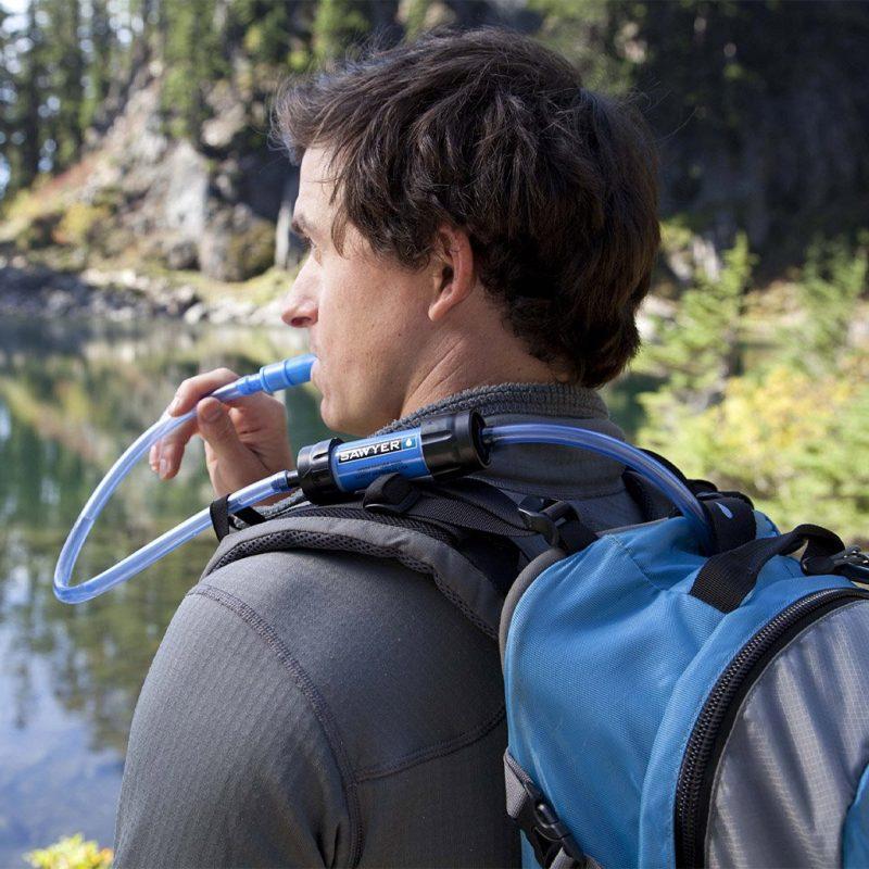Sawyer waterfilter inline voor noodsituaties