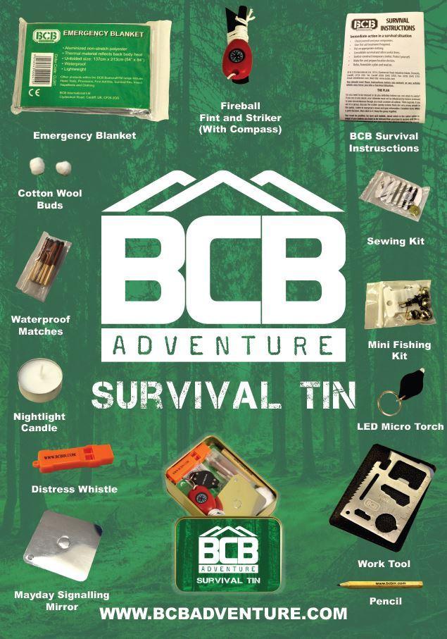 Survival kit om te kunnen overleven